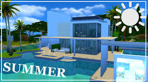 the sims 4 speed build pool house youtube