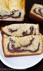 nutella swirl pound cake sallys baking addiction
