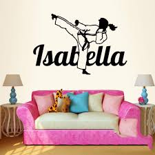 Wall Art Stickers by Online Get Cheap Karate Wall Art Aliexpress Com Alibaba Group