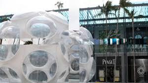 buckminster fuller u0027s fly u0027s eye dome recreated in miami design