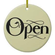 open signs ornaments keepsake ornaments zazzle