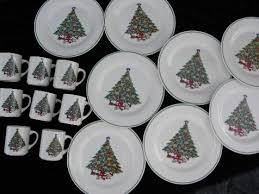 mount mt clemens pottery dinner plates mugs tree china