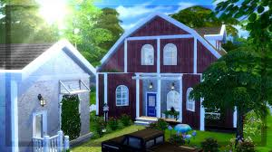 modern barn house renovation the sims 4 build youtube