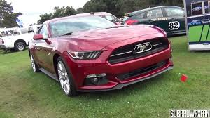 2015 mustang ruby vlog 2015 mustang with 50th anniversary package