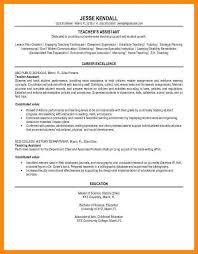 resume templates for teaching jobseducational resume template