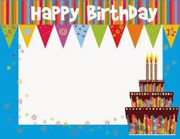 printable birthday card decorations free birthday e card new printable birthday cards printable birthday