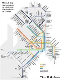 Copenhagen Map Copenhagen Public Transport Copenhagen Guide Pinterest