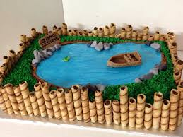 best 25 fishing theme cake ideas on pinterest fishing party