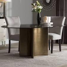 Oval Glass Dining Room Table Best 25 Glass Dining Table Ideas On Pinterest Glass Dining Room