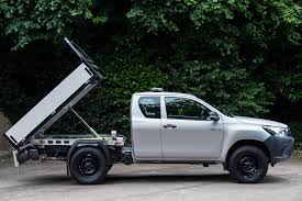 widebody toyota truck toyota hilux tipper review parkers