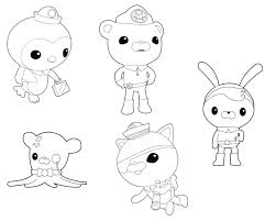 Octonauts Coloring Pages Coloring Pages Free Octonauts Colouring Octonauts Coloring Pages