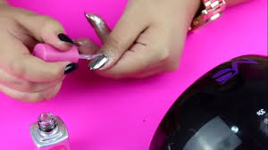 easy steps to get mirror chrome nails gel nails tutorial