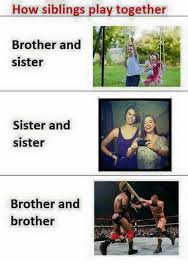 Brother Sister Memes - laughino brother sister sister sister brother brother sister
