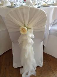 Ruffled Chair Covers Hire Chair Covers Sashes And Bows For Weddiing And Special Events