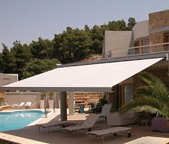 How To Make A Retractable Awning Retractable Fabric Awnings Shadetree Canopies