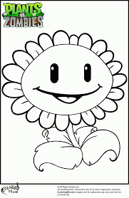 printable plants zombies coloring pages coloring