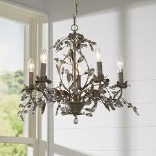 Hampton Chandelier House Of Hampton 5 Light Crystal Chandelier U0026 Reviews Wayfair