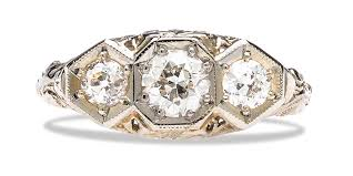 grandmothers rings s vintage diamonds vs new diamonds how to design with them