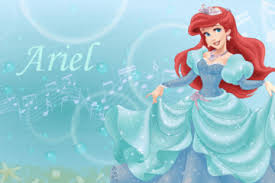 ariel red hair mermaid movie