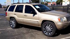 2001 jeep grand cherokee gold stock 8141 youtube