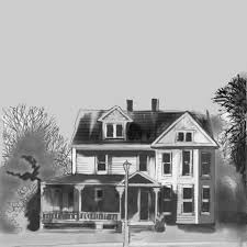 old colonial house sketch free stock photo public domain pictures