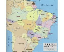 Map Of Latin America by Maps Of Brazil Detailed Map Of Brazil In English Tourist Map
