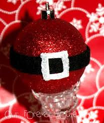 crafts santa claus and ornaments to make