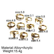 vintage yellow color fashion crown ring vintage yellow color wedding rings for women