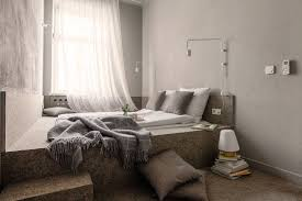 Raised Platform Bed Small Bedroom Design Idea A Wall To Wall Built In Platform Bed
