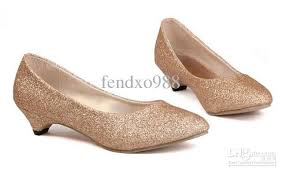 wedding shoes low heel pumps gold pumps low heel qu heel