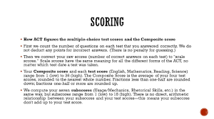 psat sat act ms escoto ppt download