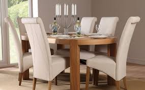 Oval Dining Room Tables And Chairs Oval Dining Table And Chairs Marceladick