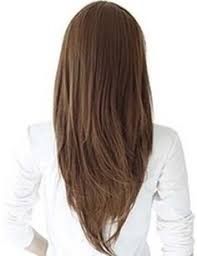back of hairstyle cut with layers and ushape cut in back hairstyles v cut long hair