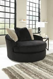 Oversized Accent Chairs Great Black Swivel Chairs For Living Room With Black And White
