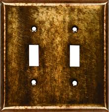 light switch covers 3 toggle 1 rocker copper patina design switchplates copper outlet covers copper