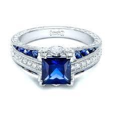 sapphire wedding ring and sapphire wedding rings gold three