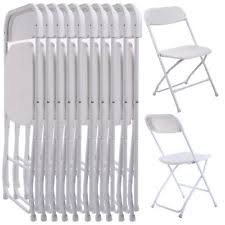 rent white chairs for wedding 100 white plastic folding stacking chairs wedding graduation party