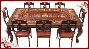 Indian Dining Chairs Appealing Indian Dining Table Cool Eight Chairs Dining Table
