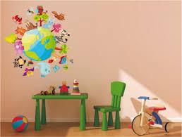 stickers animaux chambre bébé sticker animaux autour du monde