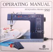 viking husqvarna 990 sewing machine manual cd ebay
