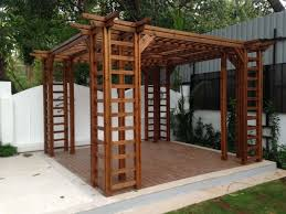 What To Use For Climbing Plants - pergola design magnificent what size wood to use for pergola
