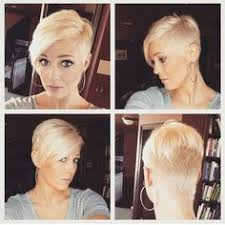 360 short hairstyles love this two tone blonde pixie two toned and dark rooted pixies