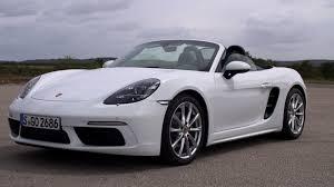 2017 Porsche 718 Boxster White Youtube