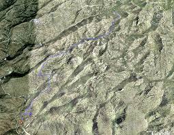 mt lemmon hiking trails map bug springs mt lemmon