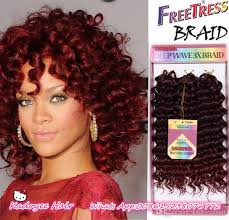 crochet weave with deep wave hairstyles for women over 50 synthetic bounce gogo curl kanekalon hair extension 3x savana box