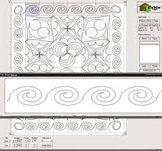 top pattern design software quiltcad quilt top stitch design software