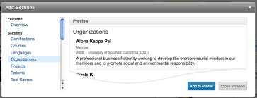 How To List Scholarships On Resume Introducing New Profile Sections Designed For Students Official
