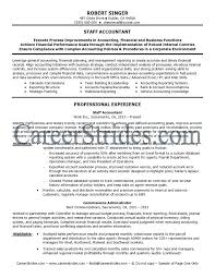 Internal Resume Sample by Accountant Resumes Sample Resume For Accountant Resume Examples