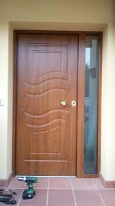 porte blindate da esterno porta blindata con pannello esterno inpvc e lato luce fisso con