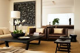 LIGHTEN UP LIVING WITH DARK LEATHER FURNITURE BluLabel Bungalow - Decor pad living room